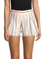 Red Carter - Romy Embroidered Shorts - Lyst
