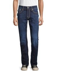 True Religion - Classic Straight Jeans - Lyst