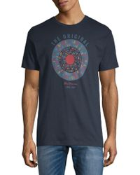 Ben Sherman - Text Target Graphic Cotton Tee - Lyst