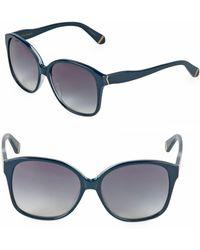 Zac Posen - Anita 58mm Square Sunglasses - Lyst