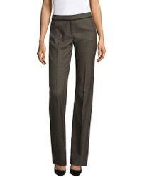 BOSS Tulea9 Standard-fit Trousers - Gray