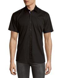 Bertigo - Classic Cotton Buttoned-down Shirt - Lyst