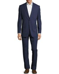 CALVIN KLEIN 205W39NYC - Slim-fit Plaid Trousers Suit - Lyst