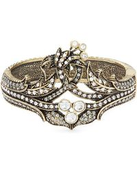 Heidi Daus - Deco Crystal Bangle Bracelet - Lyst