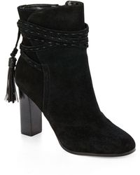 Saks Fifth Avenue Suede Ankle Boots free shipping shop cheap sale for sale Af2prXo