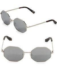 Elizabeth and James - 53mm Hexagon Sunglasses - Lyst