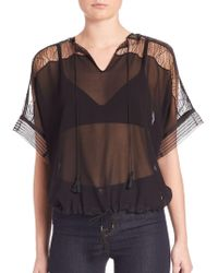 Ohne Titel - Lace Top - Lyst