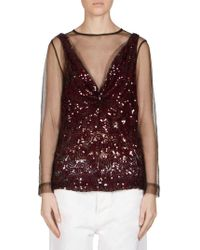 Dries Van Noten - Sequin-embellished Tank Overlay Top - Lyst