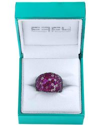 Effy - Ruby & Pink Sapphire Sterling Silver Ring - Lyst