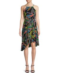 Plenty by Tracy Reese - Tropical Asymmetric Dress - Lyst