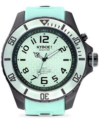 Kyboe - Black Series Stainless Steel Strap Watch - Lyst