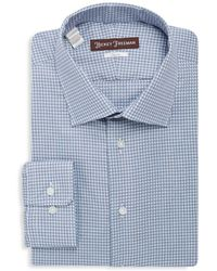 Hickey Freeman - Cotton Classic-fit Dress Shirt - Lyst