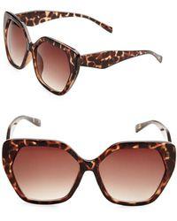 Fantaseyes - 58mm Oversized Sunglasses - Lyst