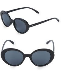 Fantaseyes - 47mm Oval Sunglasses - Lyst