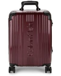 Calvin Klein - 606 Hard Shell Carry-on Spinner Suitcase - Lyst