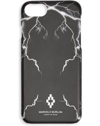 Marcelo Burlon Telgo Iphone 7 Case - Black