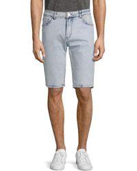Xray Jeans - Washed Denim Shorts - Lyst