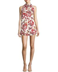 Lovers + Friends - City Street Floral Dress - Lyst