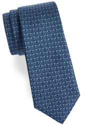 Saks Fifth Avenue - Paired Horsebit Silk Tie - Lyst