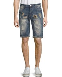 Xray Jeans - Distressed Denim Shorts - Lyst