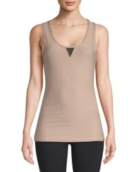 X By Gottex - Power Mesh Muscle Tank Top - Lyst