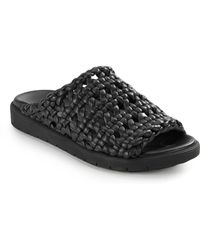Helmut Lang - Woven Leather Slippers - Lyst