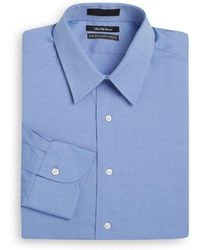 Saks Fifth Avenue - Slim-fit Solid Cotton Dress Shirt - Lyst