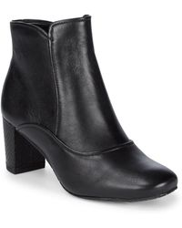 Donald J Pliner - Paisley Leather Booties - Lyst