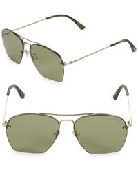 ac65918f5a2 Lyst - Tom Ford Dylan 57mm Aviator Sunglasses for Men