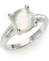 Ippolita - Rock Candy Mother-of-pearl, Clear Quartz & Sterling Silver Ring - Lyst