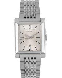 Gucci - Stainless Steel Quartz Watch - Lyst