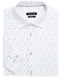 Bugatchi - Shaped-fit Floral Dress Shirt - Lyst
