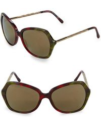 Burberry - Be4193 57mm Butterfly Sunglasses - Lyst
