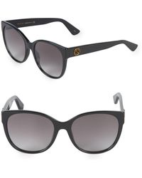 Gucci - 54mm Square Sunglasses - Lyst