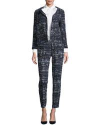ESCADA - Print Straight-leg Pants - Lyst