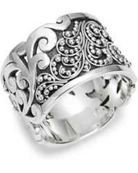 Lois Hill - Classic Sterling Silver Ring - Lyst