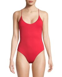 Dolce Vita - One-piece Ring Swimsuit - Lyst