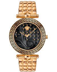 Versace - Vanitas Ip Stainless Steel Bracelet Watch - Lyst