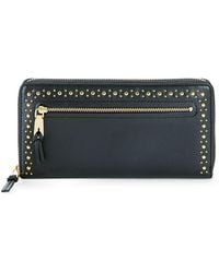 Cole Haan - Marli Studded Leather Wallet - Lyst