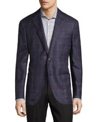 Luciano Barbera - Checkered Sportcoat - Lyst
