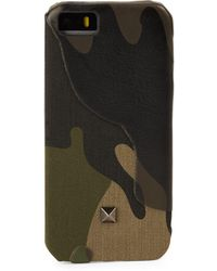 Valentino - Camouflage Iphone Case- 5/5s - Lyst