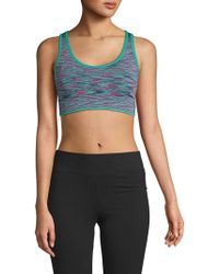 Marc New York - Seamless Sports Bra - Lyst