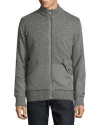 American Stitch - Front Zippered Jacket - Lyst