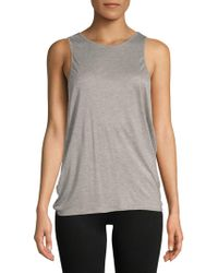 Electric Yoga - Crossover Tank Top - Lyst