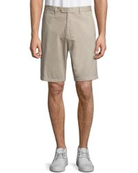 Saks Fifth Avenue - Collection Tailored Cotton Shorts - Lyst