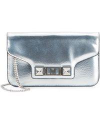 Proenza Schouler | Ps11 Metallic Leather Convertible Wallet | Lyst