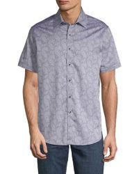 Robert Graham - Ballina Ridge Cotton Button-down Shirt - Lyst