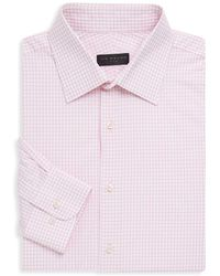 Ike Behar - Poplin Check Button-up Shirt - Lyst