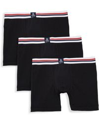 Psycho Bunny - Three-pack Motion Boxer Briefs - Lyst