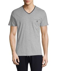 The Kooples Sport - Classic Cotton Tee - Lyst